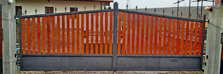 brána jednokřídlová